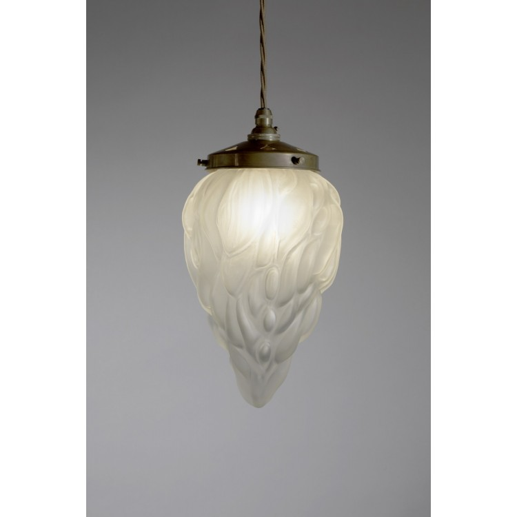 Pendant Drop with Medium Flambeau Shade